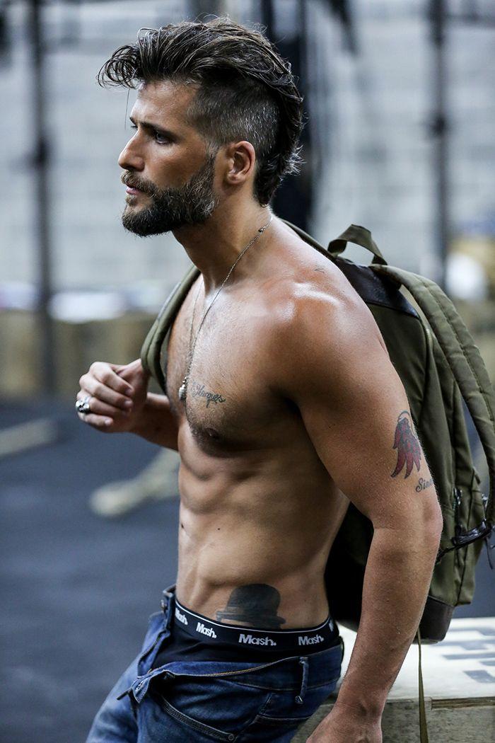 03468a869 Delícia  Bruno Gagliasso posa para a nova campanha da marca de cuecas Mash