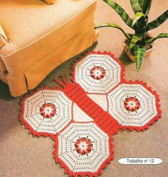 Butterfly carpets and free charts!
