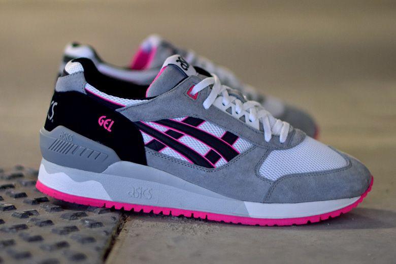 Asics Gel Respector - White / Black - Pink