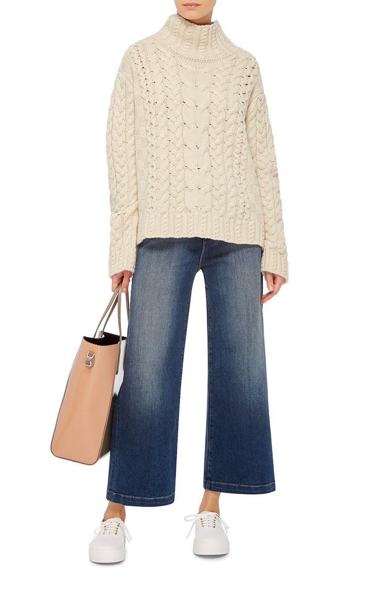 Sally Cable Knit Sweater by Vilshenko | Moda Operandi | ВЯЗАНЫЕ ...