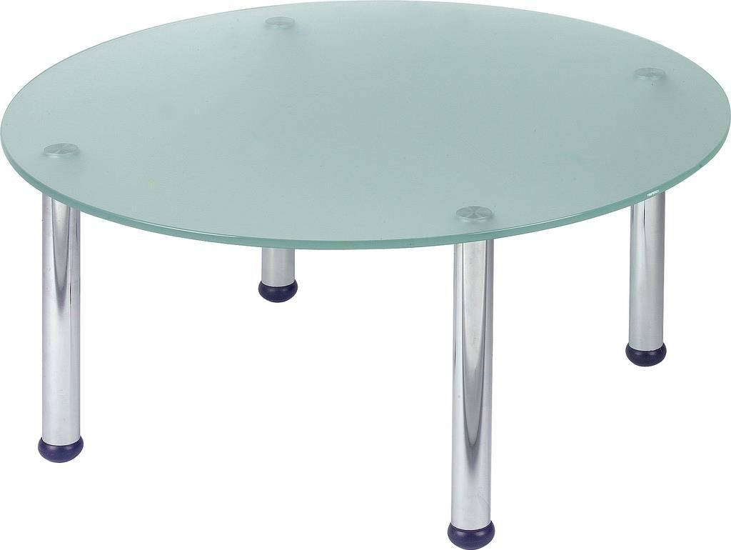 Round Frosted Glass Coffee Table [ 770 x 1024 Pixel ]