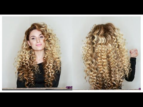 How To Fake Big Naturally Curly Hair With Subs Big Curly Hair Tutorial Curly Hair Styles Curly Hair Styles Naturally
