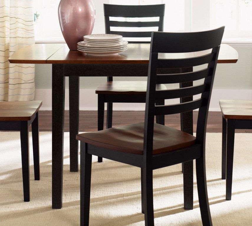 Furniture Magnificent Drop Leaf Dining Table Crate And Barrel Also Drop Leaf Dining Table White From 3 Tips To Get Drop Leaf Kitchen Table In The Lower Price