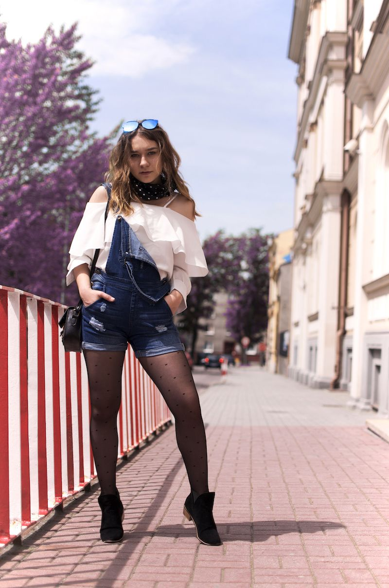 Pin By Aleksandra Dawidowicz On Ogrodniczki Fashion Denim Jacket Denim