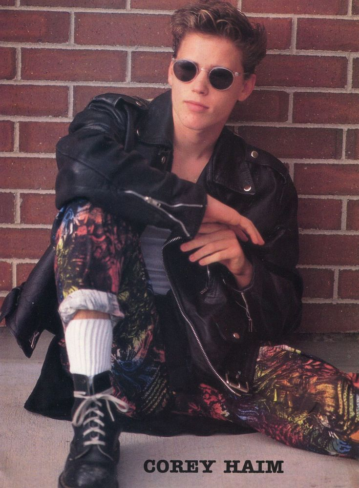 515a64752f7 corey haim pinup clipping 80 s sexy in sunglasses from  2.0