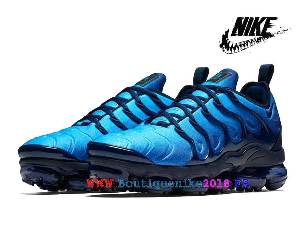 quality design 9ddb6 c8e8f Nike Air VaporMax Plus 924453 401 Chaussures Nike TN Pas Cher Homme  Obsidian Bleu