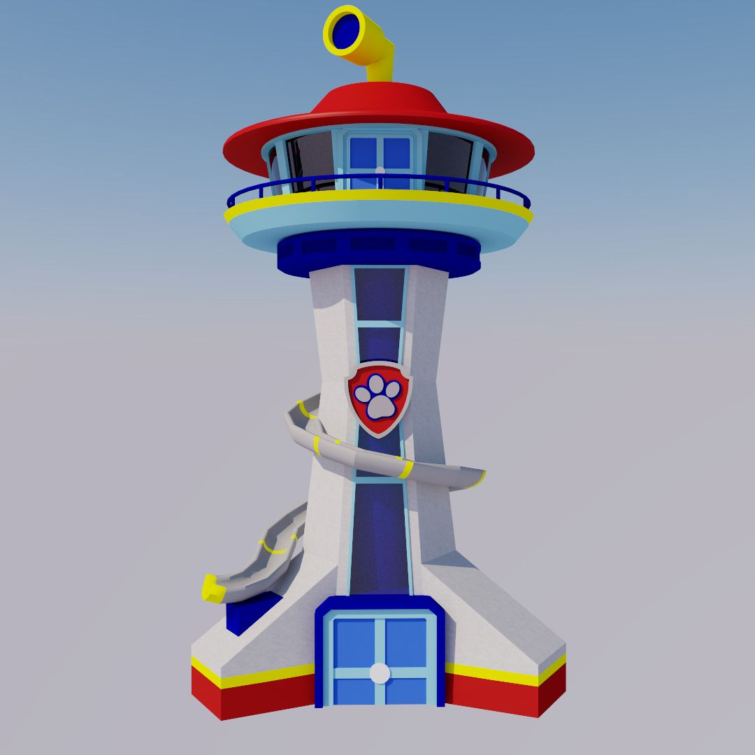 Paw Patrol Lookout Tower I Have A Two Year Old In 2020