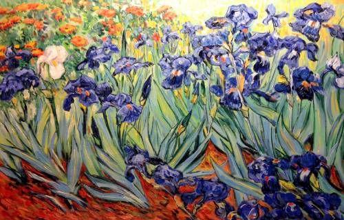 Картины (живопись) : Ирисы.копия Ван Гога | Постеры в ...