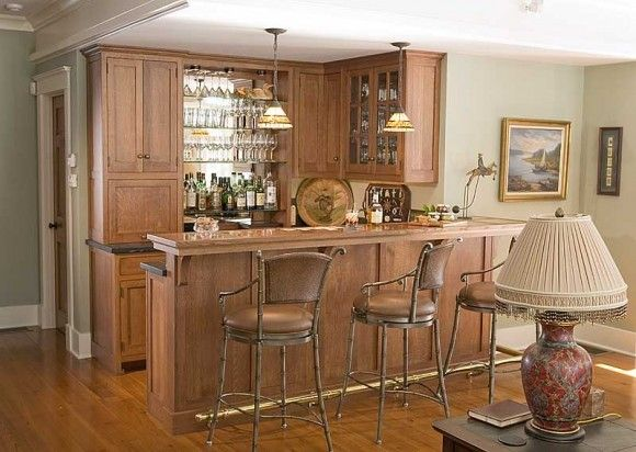 home bar decorating ideas 3 580x412 How to Decorate a Bar? Great ...