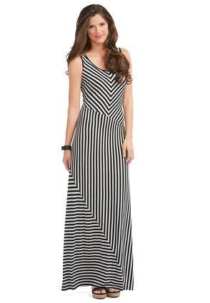 f2be6a55805 Cato Fashions Diagonal Striped Maxi Dress  CatoFashions  CatoSummerStyle