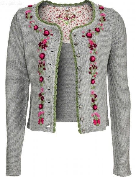 Strickjacke damen norwegermuster