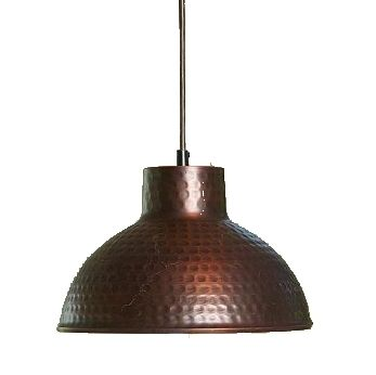 hammered copper pendant light house ideas pinterest hammered