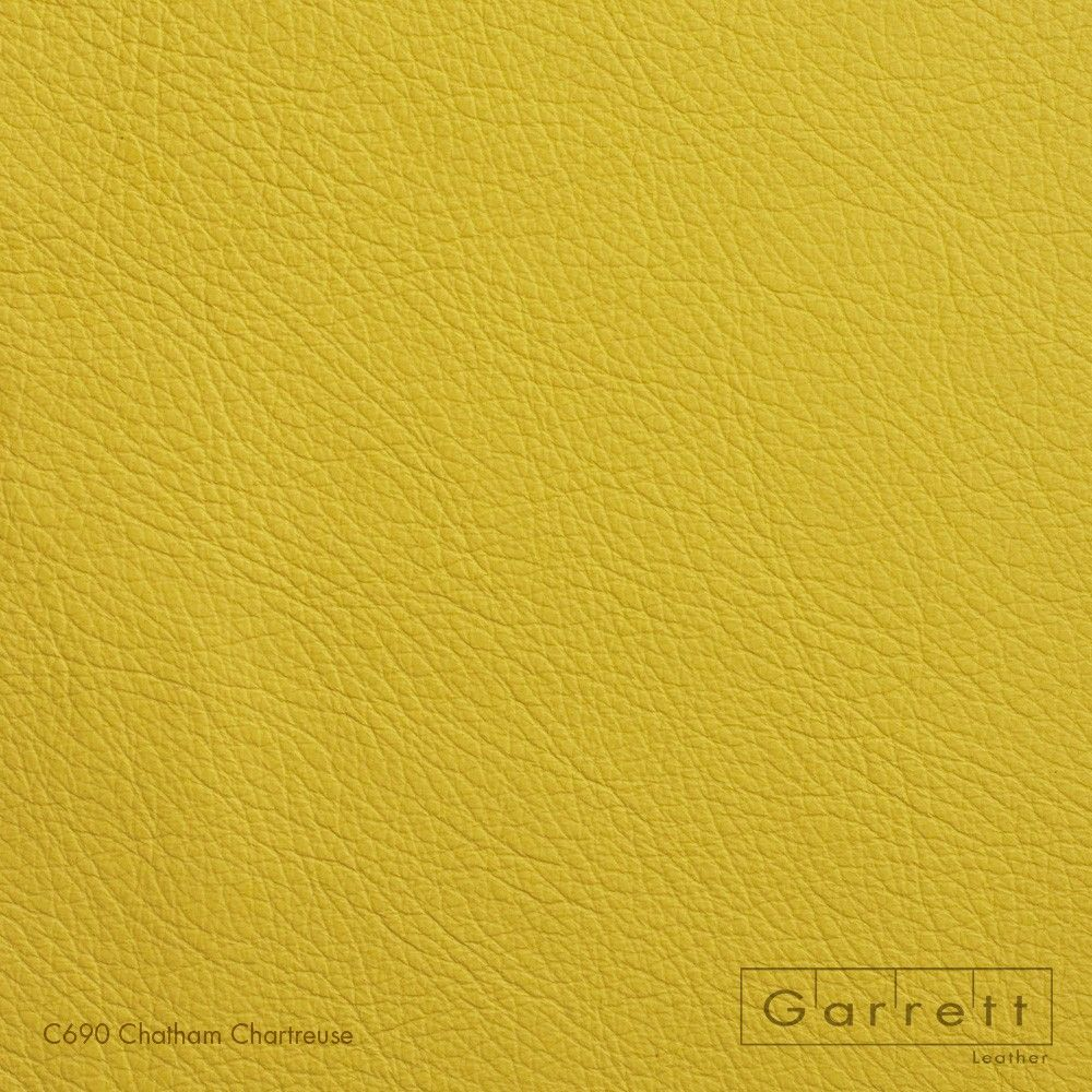 Chatham Garrett Leather Chartreuse, Leather
