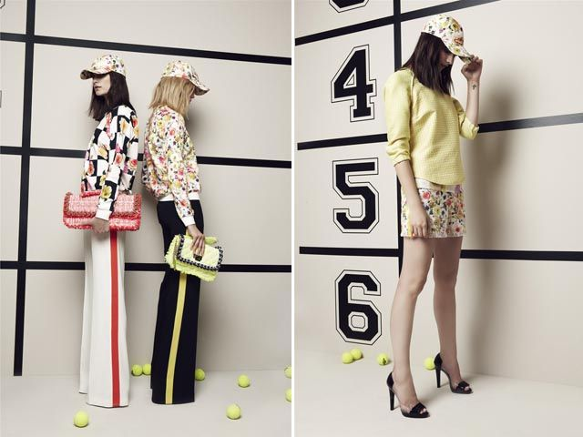 MSMG - love the prints and textures.