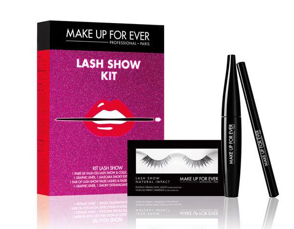 Regali di Natale 2015 Make Up For Ever Lash Show Kit