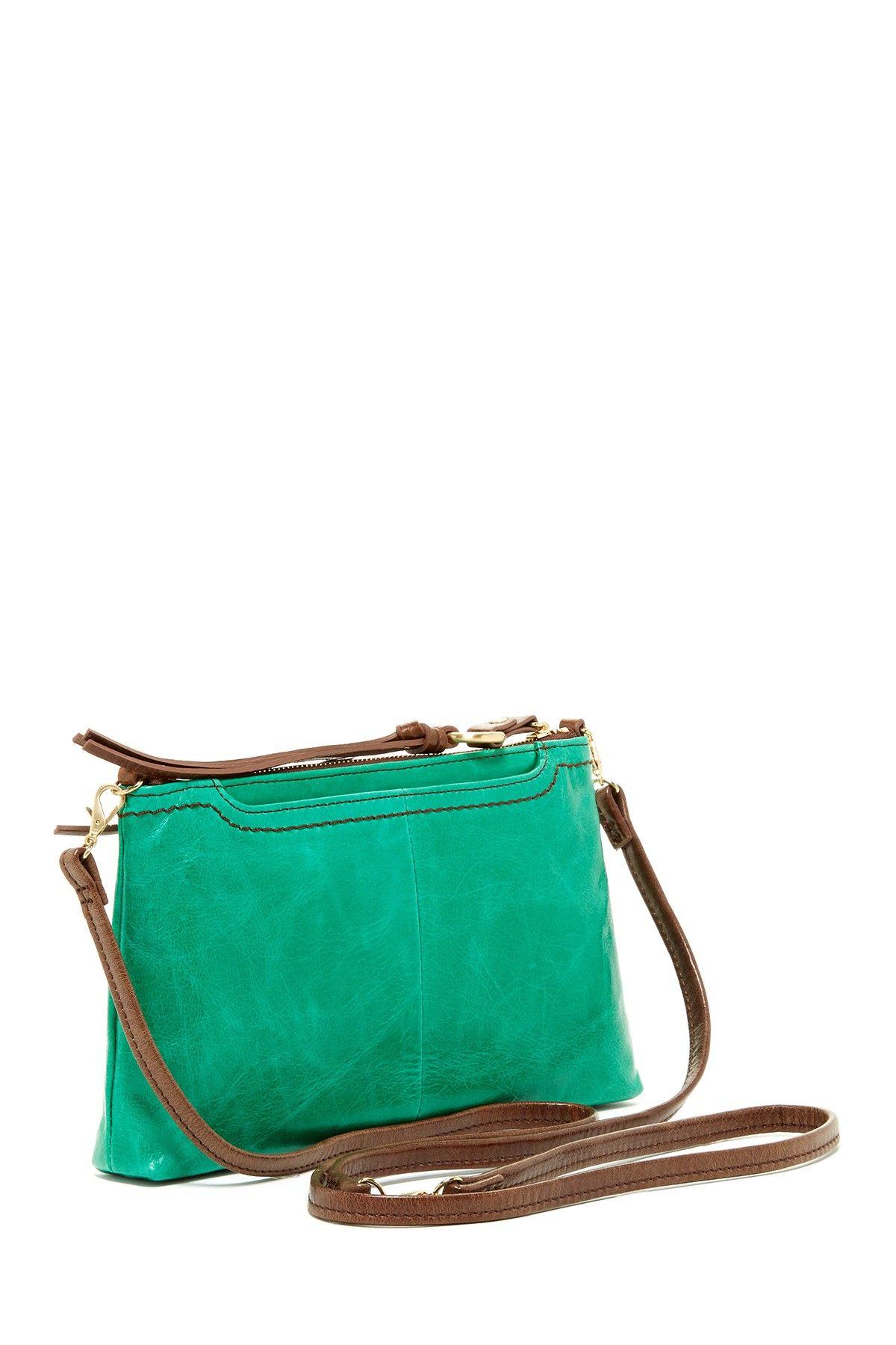 Love this green cross body bag.