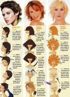 cortes de cabello para mujeres paso por paso