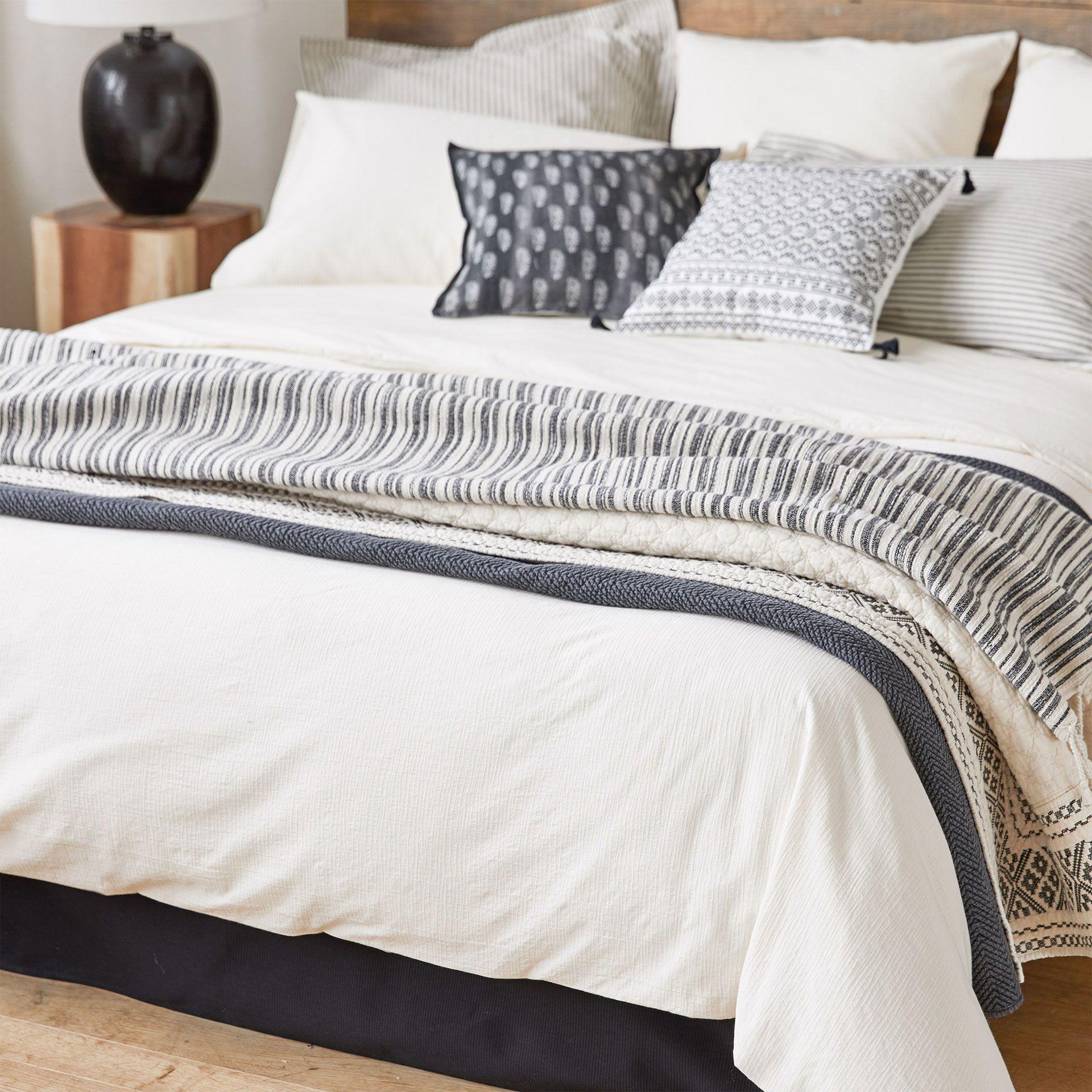 image du produit housse de couette coton percale texture id es pour la maison pinterest. Black Bedroom Furniture Sets. Home Design Ideas
