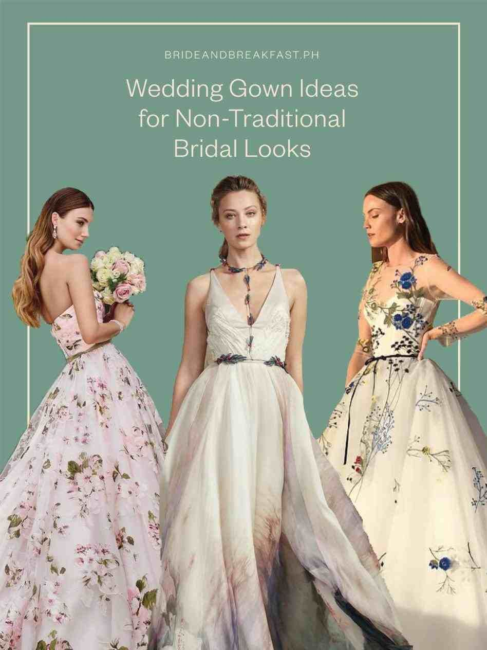 Non Traditional Wedding Unusual Wedding Dresses Alternative