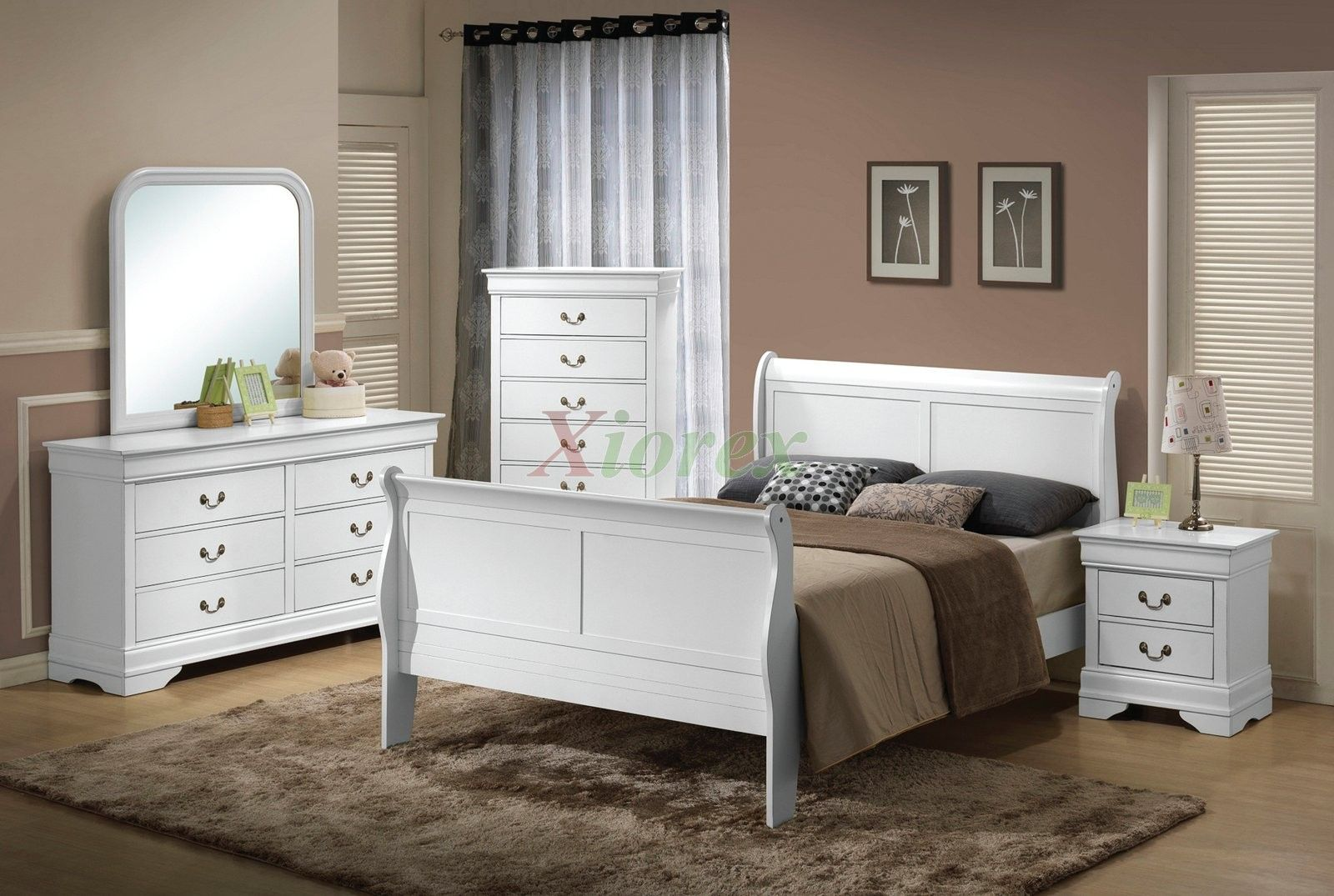 White Wood Bedroom Furniture Contemporary Accessories Pinterest And