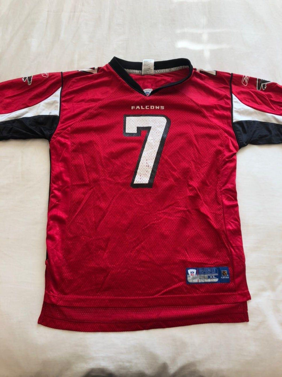 Vintage Michael Vick Atlanta Falcons 7 In 2020 Atlanta Falcons Michael Vick Falcons