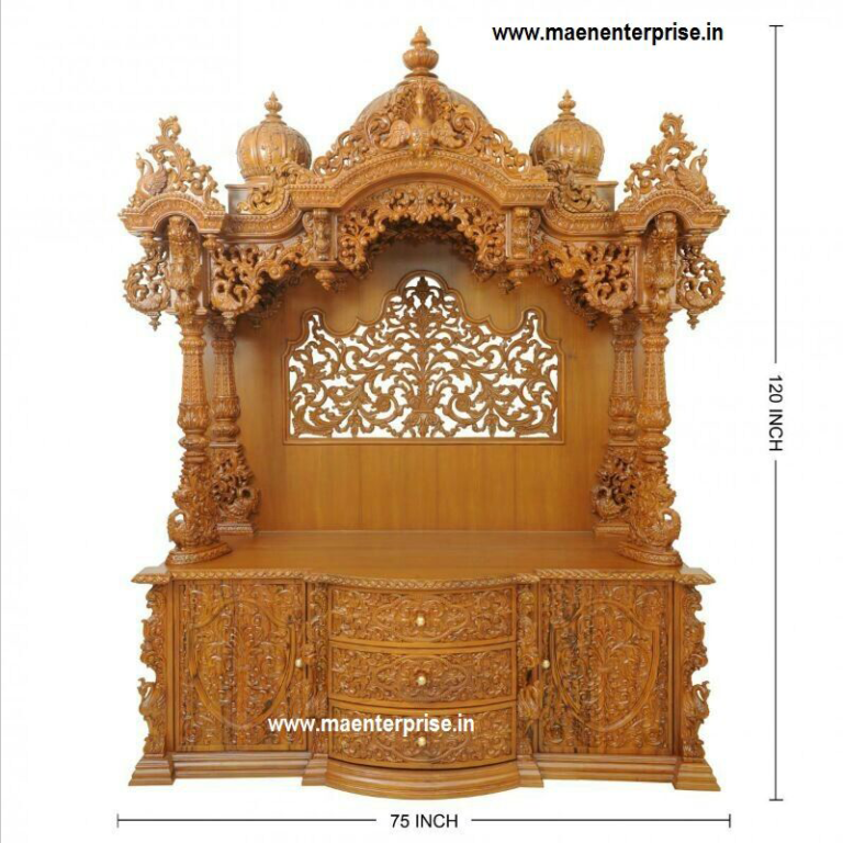 Best Big Wooden Mandir Temple For Home Decoration Wooden Temple For Home Temple Design For Home Home Temple