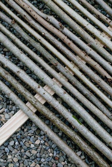 12+ Sichtschutz oder unkonventionelle Rankhilfe DIY • Pomponetti Stock