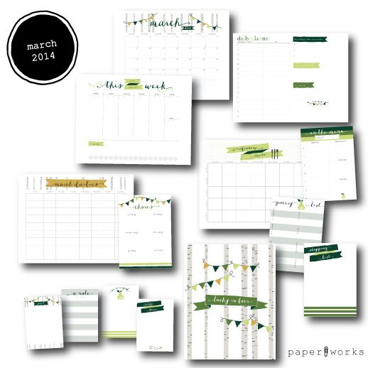 paper works #003 - Jones Design Company Shop printables