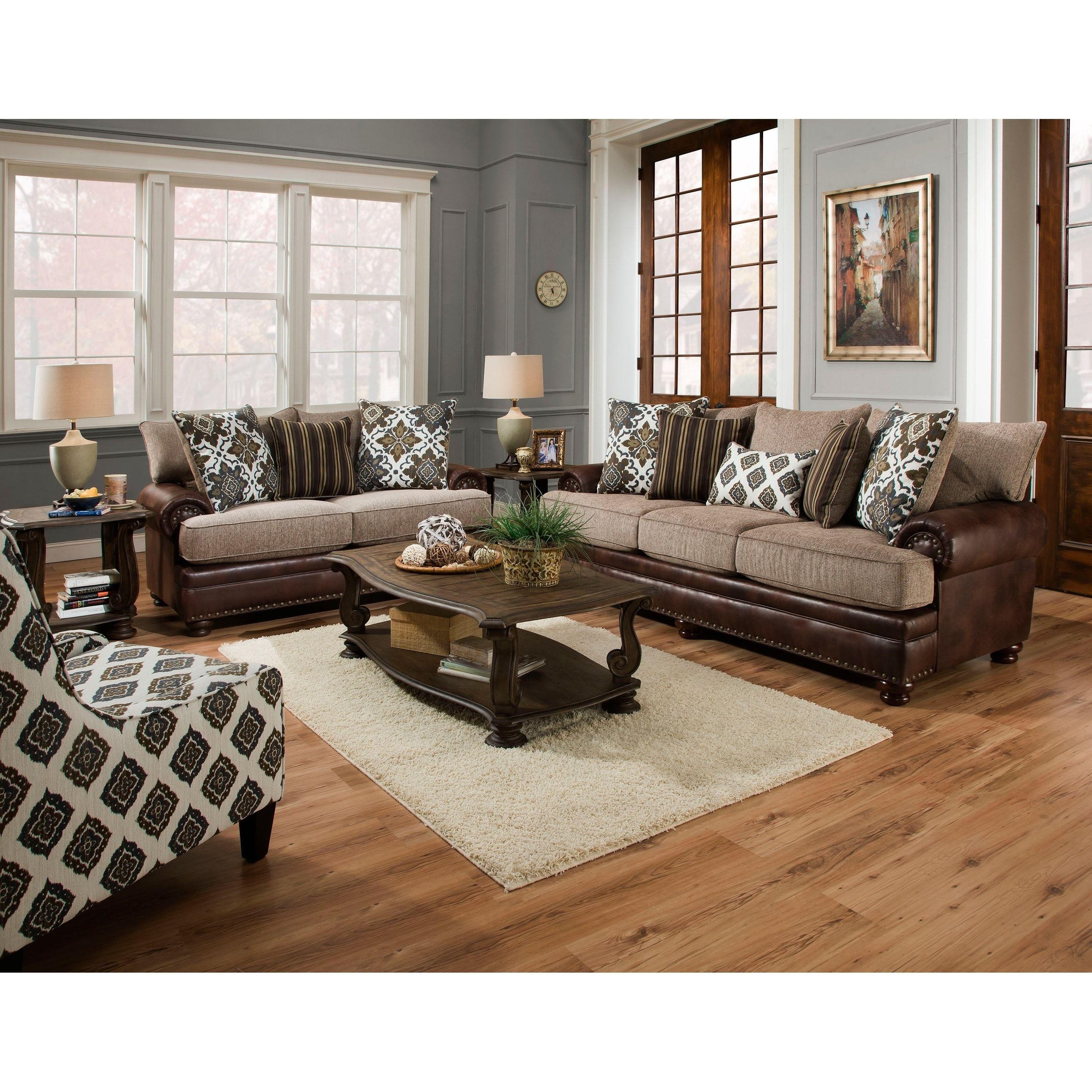 Our Best Living Room Furniture Deals Brown Living Room 3 Piece Living Room Set Living Room Sets