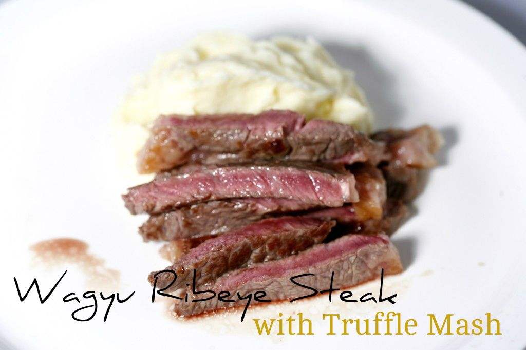 Wagyu Ribeye Steak with Truffled Mash from Fine Food Specialist