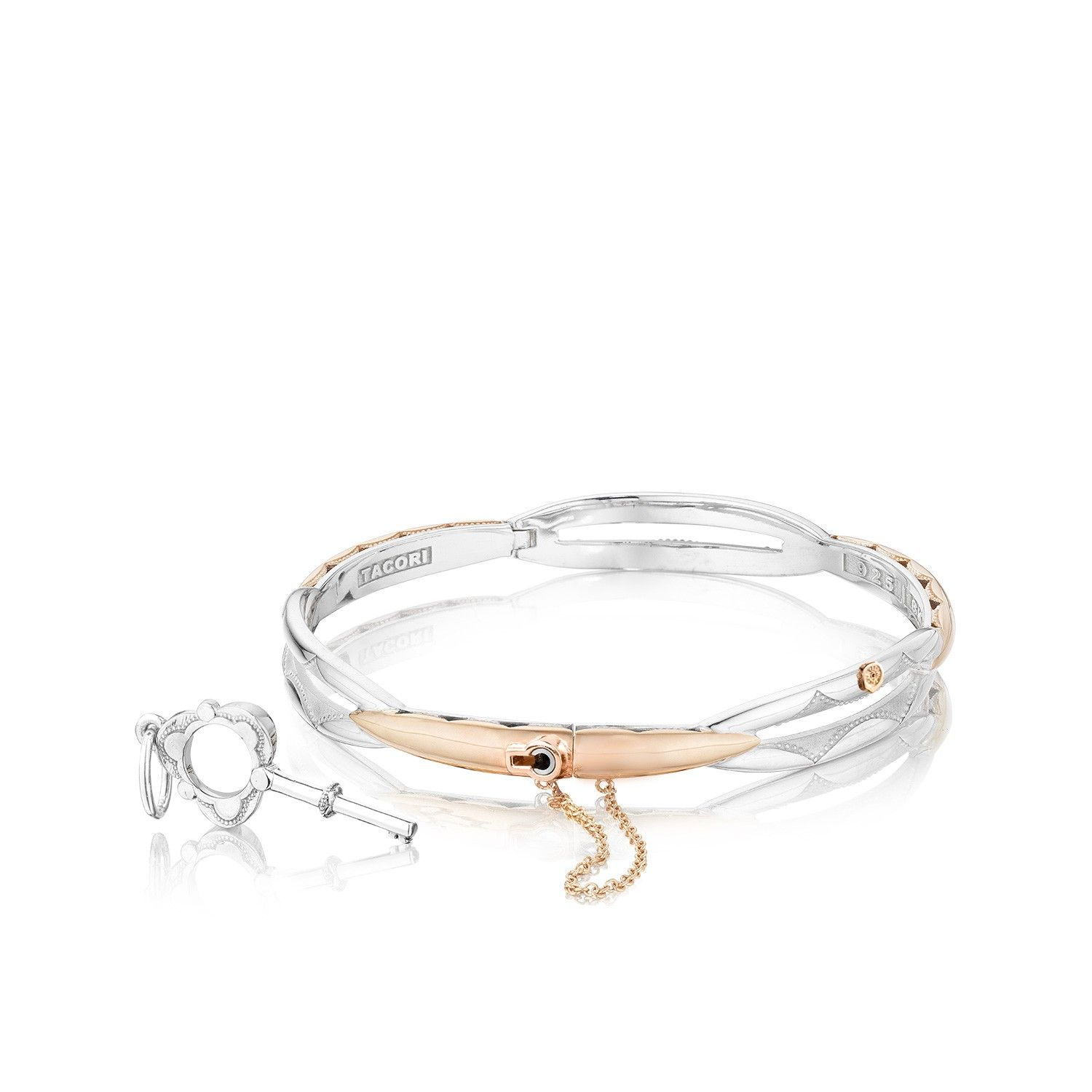 The Promise Bracelet Must Be Locked And Unlocked With A Tacori Key Which Symbolizes