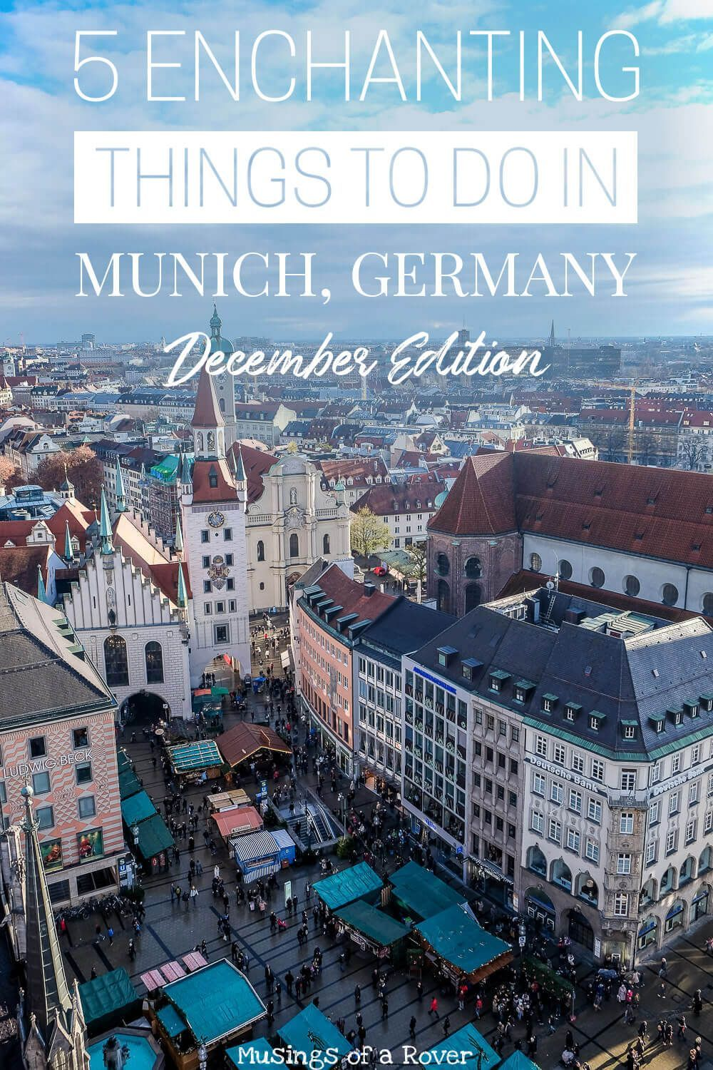 5 Enchanting Things to Do in Munich in December in 2020