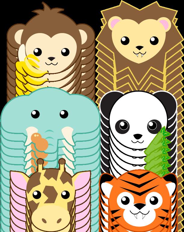 Zoo Animals หัวสัตว์ คน Pinterest Zoos, Animal and