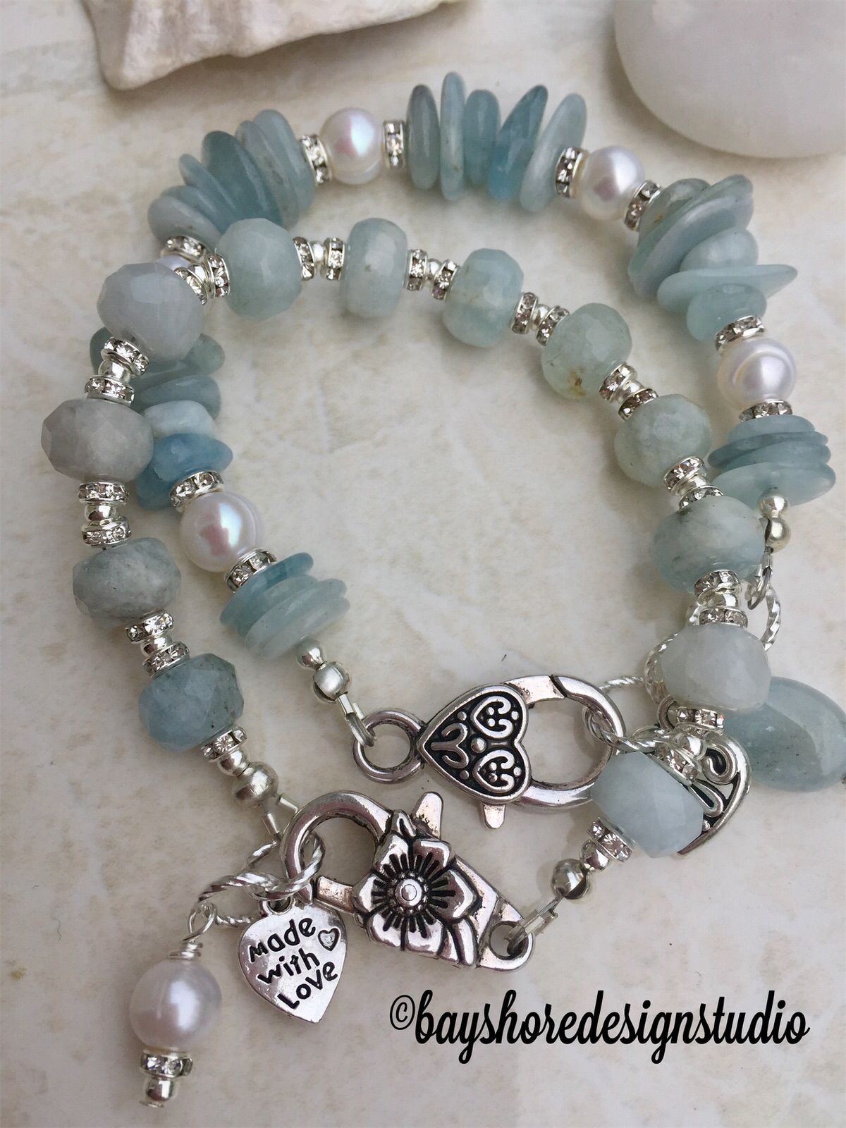 Photo of Aquamarine bracelets