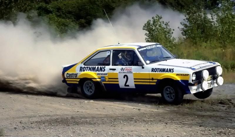 It was Bjorn Waldegard (Ford Escort) who took the win in Canada