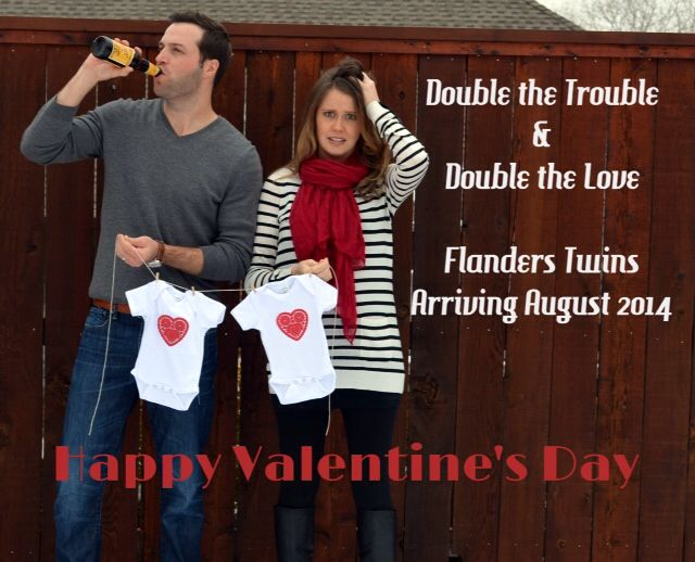 Valentines Day Pregnancy Announcement Ideas – Valentine Birth Announcement