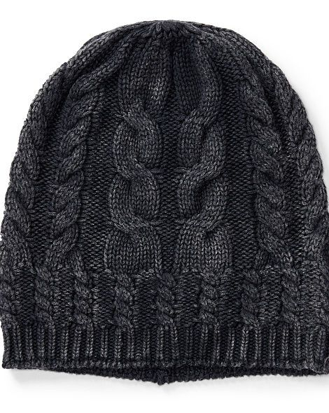7680d69b70c Cable-Knit Cotton Hat - Polo Ralph Lauren Hats - RalphLauren.com ...