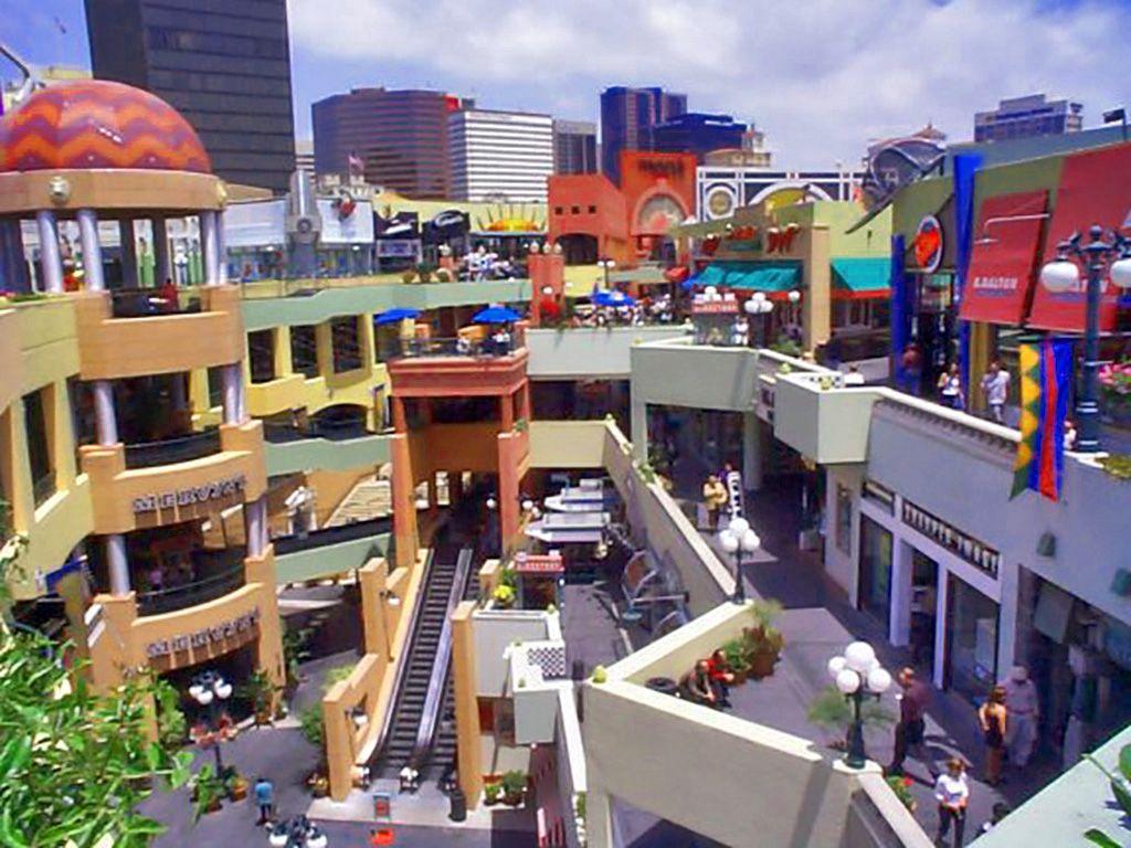 Horton Plaza San Diego Architecture Design Pinterest San