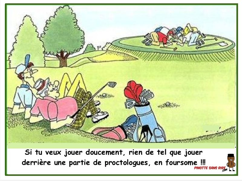 anniversaire humour golf