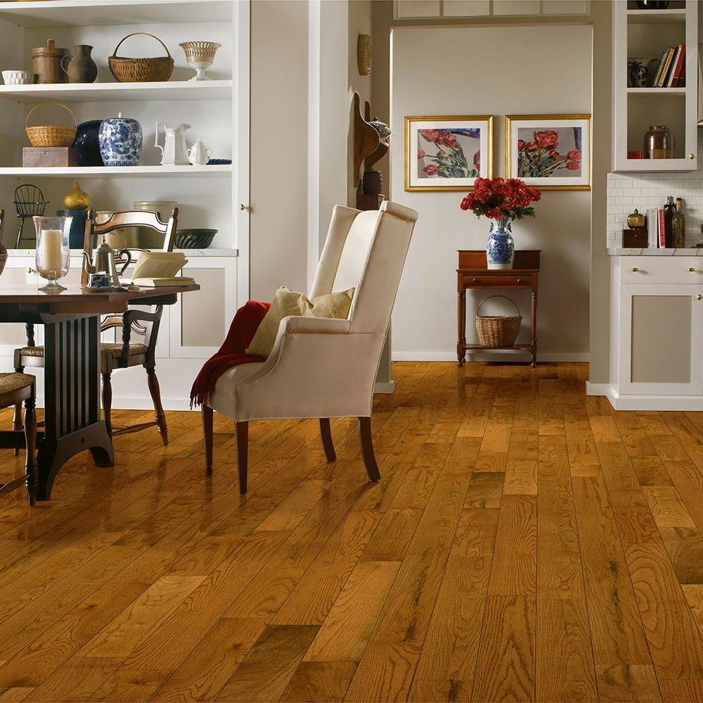 Bruce Plano Oak Marsh 3/4 in. Thick x 5 in. Wide x Varying