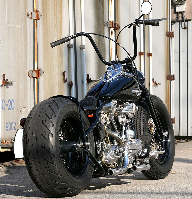 black harley davidson chopper. Another Nice Harley Davidson Street Glide; Just The Right Mix Of Black And Chrome Chopper O