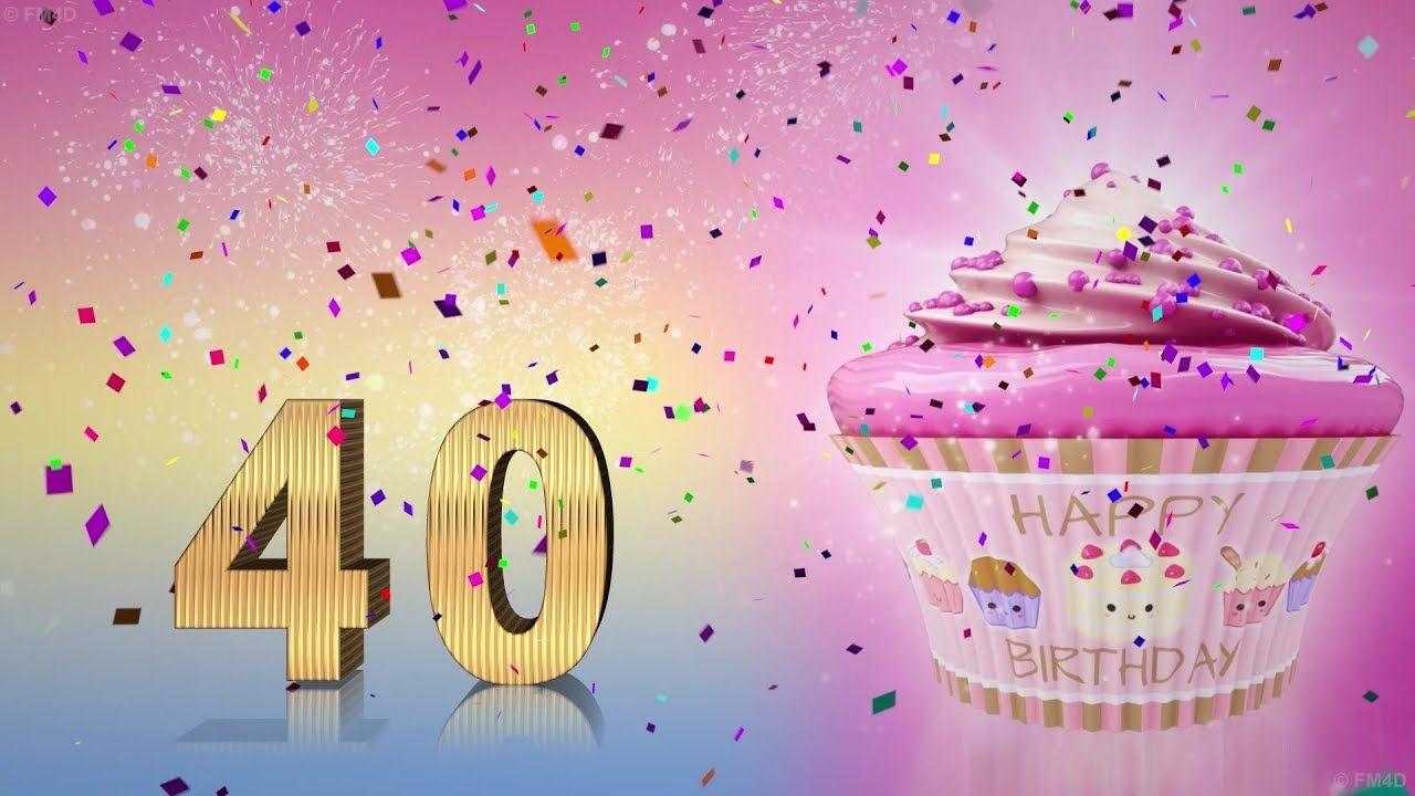 Geburtstagslied Zum 40 Geburtstag Happy Birthday To You