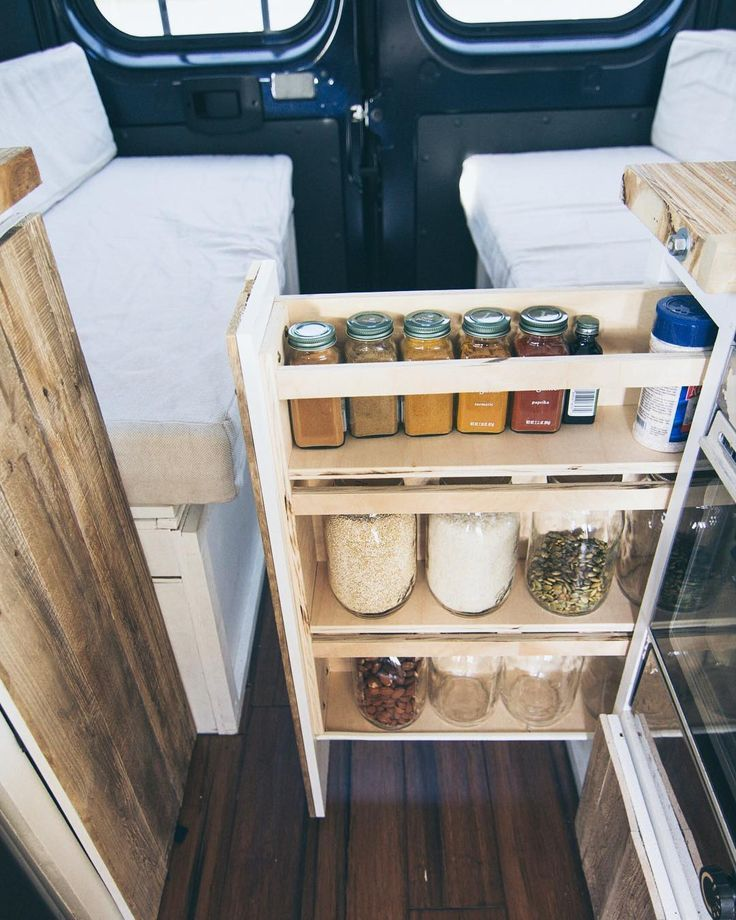 Van Life Storage and Organization Ideas