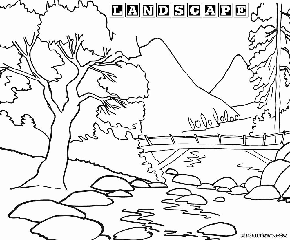 Pin On Best Nature Coloring Pages