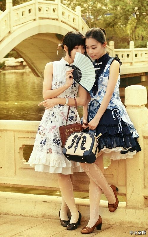 119a717c4ee94 画像   「和ロリ」に続くは中華ロリ!チャイナドレスイメージのロリィタファッション「Qi Lolita」 - NAVER まとめ