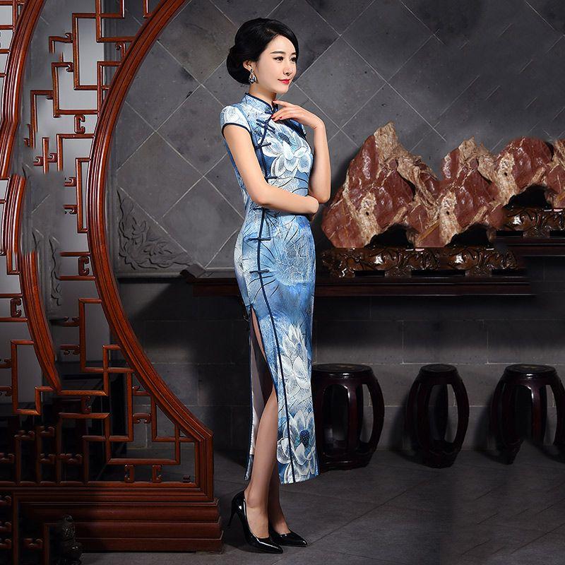 Cheongsam chinese dresses are called            https://www.ichinesedress.com/