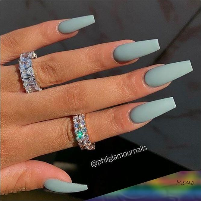 Cute acrylic nails also known as artificial nails or faux nails are great timesa…