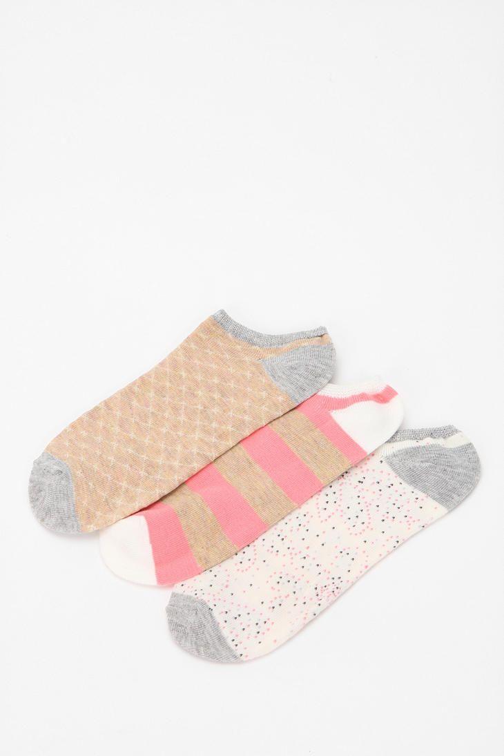 f267f6b0ca172 Pin Dot No-Show Sock - Pack of 3 #urbanoutfitters | socks | Socks ...