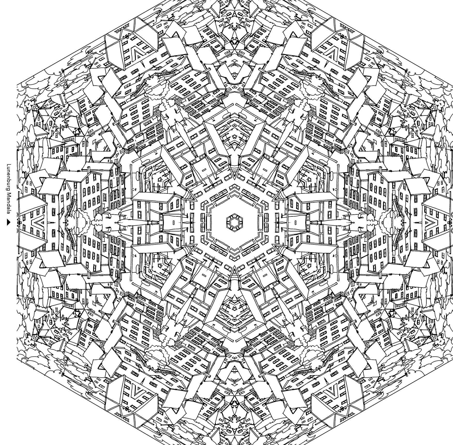Chronicle Books Bestsellers New Releases Unique Books Gifts Mandala Coloring Pages Fantastic Cities Coloring Book Coloring Pages