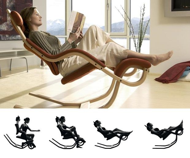 Elegant Relax Like An Astronaut In The Gravity Balans Chair By Varier Design Inspirations